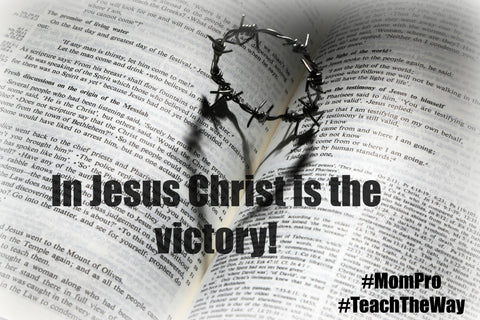 Victory in Jesus - Word Over-lay by: Jennie Louwes