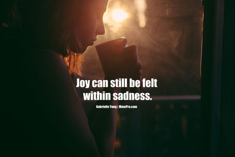 Joy within Sadness - Image Provided by Foundry via Pixabay - Word Overlay by Louwes Media