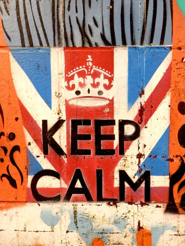 Keep Calm and Carry On - Image Found via Morgue File
