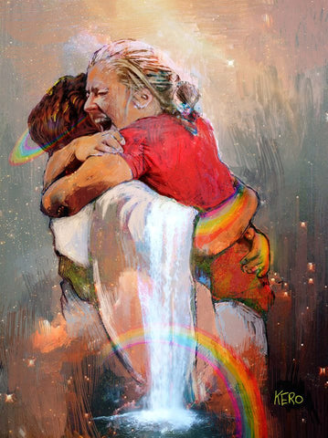 """I Found Who My Soul Loveth. I Held Him and Wouldn't Let Go."" - Image/Art Created by Kerolos Safwat"