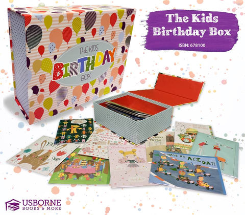 Kid's Birthday Cards - Image Provided by Usborne Books and More