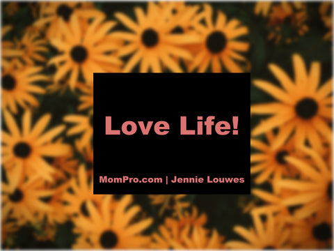 Loving Life - Word Overlay by Jennie Louwes - Image Provided by Freely Photos