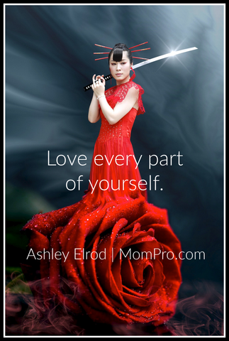 Love Yourself - Image by KELLEPICS via Pixabay - Word Overlay by Jennie Louwes