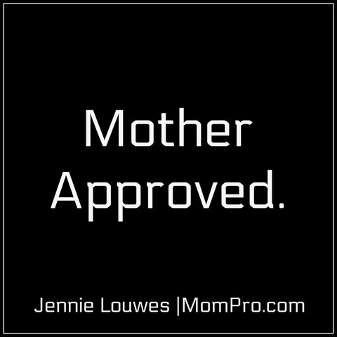 |Mother Approved|Image Created by Jennie Louwes|