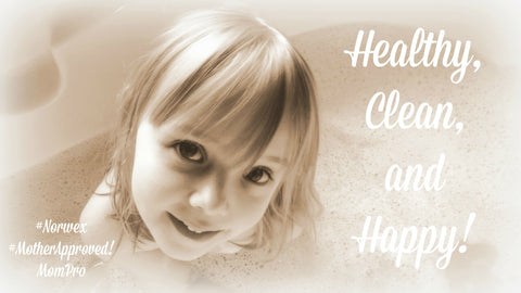 Healthy, Clean, Happy - Photography and Word-Overlay by Jennie Louwes