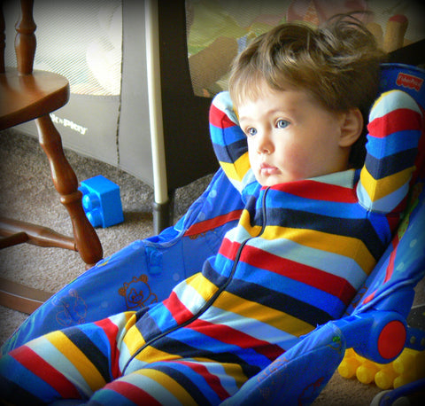 Lounging Like A Pro - The 2 Year Old Life - Photograph by Jennie Louwes