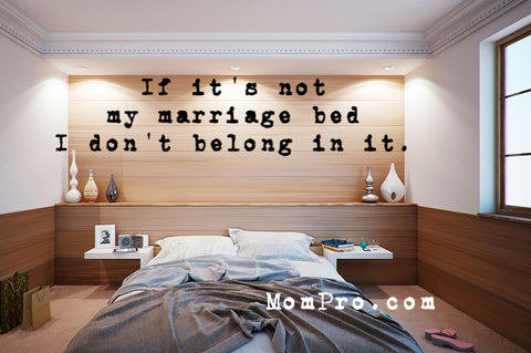 Not My Bed - Image by keresi72 via Pixabay - Word Overlay by Jennie Louwes