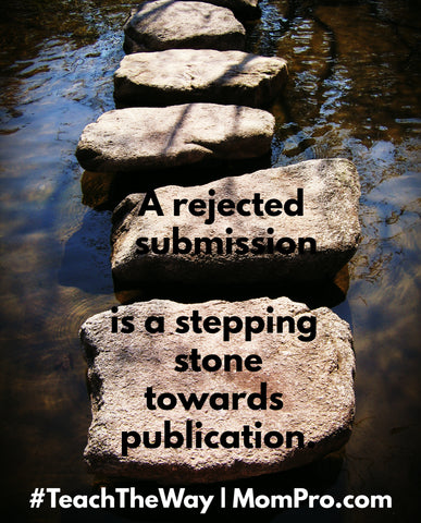 Stepping Stones - Photo by: Rosevita via Morguefile - Words and Overlay by: Jennie Louwes