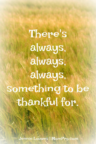 Always Thankful - Word Over-lay by Jennie Louwes