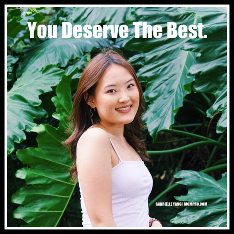 Deserving - Image Provided by Gabrielle Yang - Word Overlay by Louwes Media