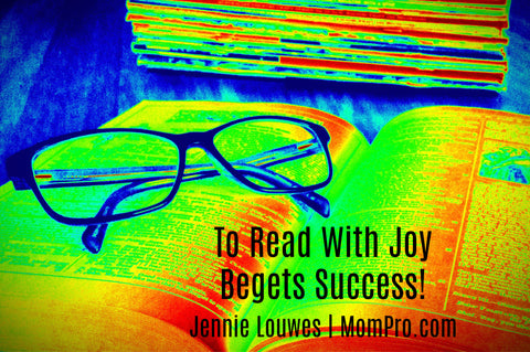 Raising Successful Readers - Image Found via Morgue Files - Words by Jennie Louwes