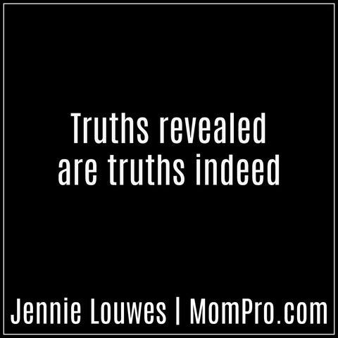 The Truth Revealed - Image by Jennie Louwes