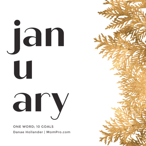 January - Image Provided by PicMonkey - Word Overlay by Louwes Media