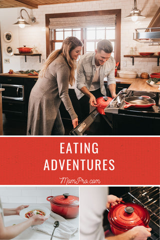 Adventurous Eating - Image Provided by PicMonkey - Word Overlay by Louwes Media