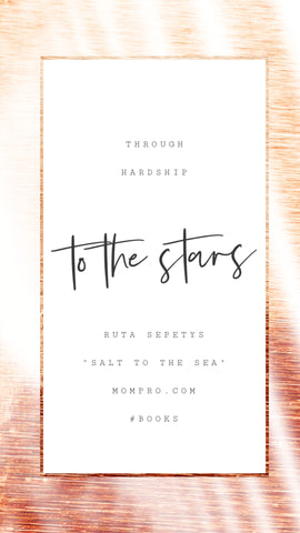 To the Stars - Image Provided by PicMonkey - Word Overlay by Louwes Media