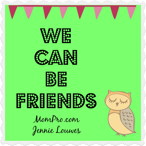 Let's Be Friends! - Image Created By: Jennie Louwes