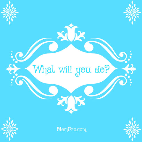 What Will You Do? - Image by Jennie Louwes