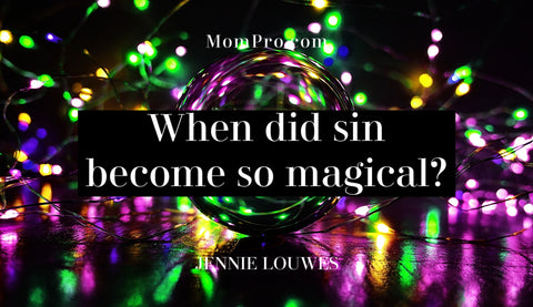 The Origin of Sin - Image Provided by Alexas_Fotos via Pixabay - Word Overlay by Louwes Media