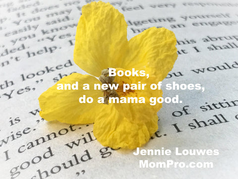 Good for a Mama's Soul - Image Provided by Carma Writes via Morgue File - Word Overlay by Jennie Louwes