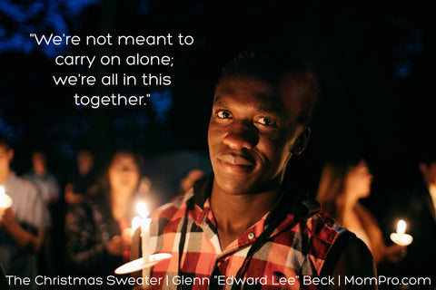 We're in this Together - Word Overlay by Jennie Louwes - Image Provided by Nyabuto Onkundi - Freely Photo's