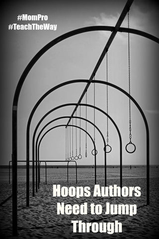 Hoops To Jump Through - Word Overlay - Jennie Louwes