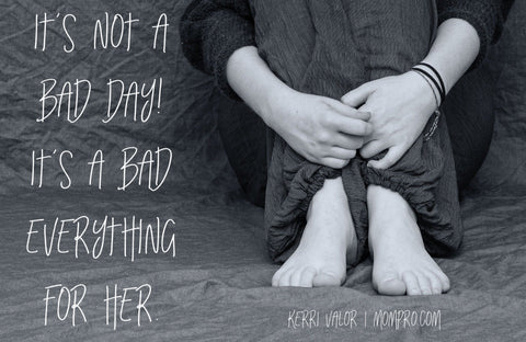 "More Than ""Just A Bad Day"" - Image Found via Pixabay - Word Overlay by Jennie Louwes"