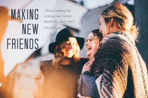 Making Friends - Image Provided by StockSnap via Pixabay - Word Overlay by Louwes Media