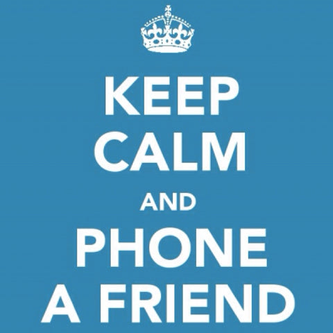 Phone a Friend - Image Discovered via Pinterest