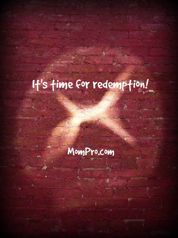 Redemption is Near - Word Overlay by: Jennie Louwes