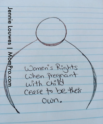 Women's Rights - Image Created by Jennie Louwes