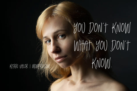You Don't Know - Image Provided by Victoria_Borodinova via Pixabay - Word Overlay by Jennie Louwes