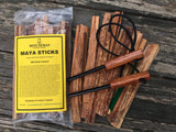 The Bug-Out Bag Pack- (1) one pound bag Maya Sticks Fire Starting Tinder  + (2) Small Minuteman Fire Starters