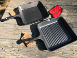 "10 1/2"" Square Skillet and Grill Package"