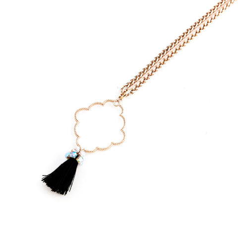 Long Tribal Treasure Necklace //Collier Long Tribal Treasure