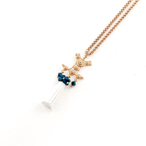 Long Marine Moment Necklace // Collier long Marine Moment