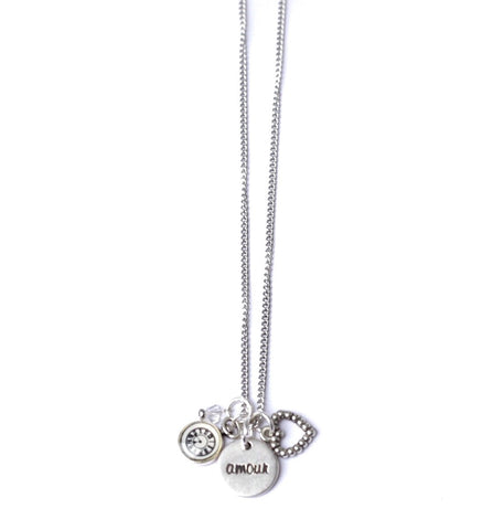 TIMELESS LOVE NECKLACE/COLLIER TIMELESS LOVE