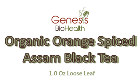 Tea - Orange Spice Black Tea - 1.0 Oz - Assam