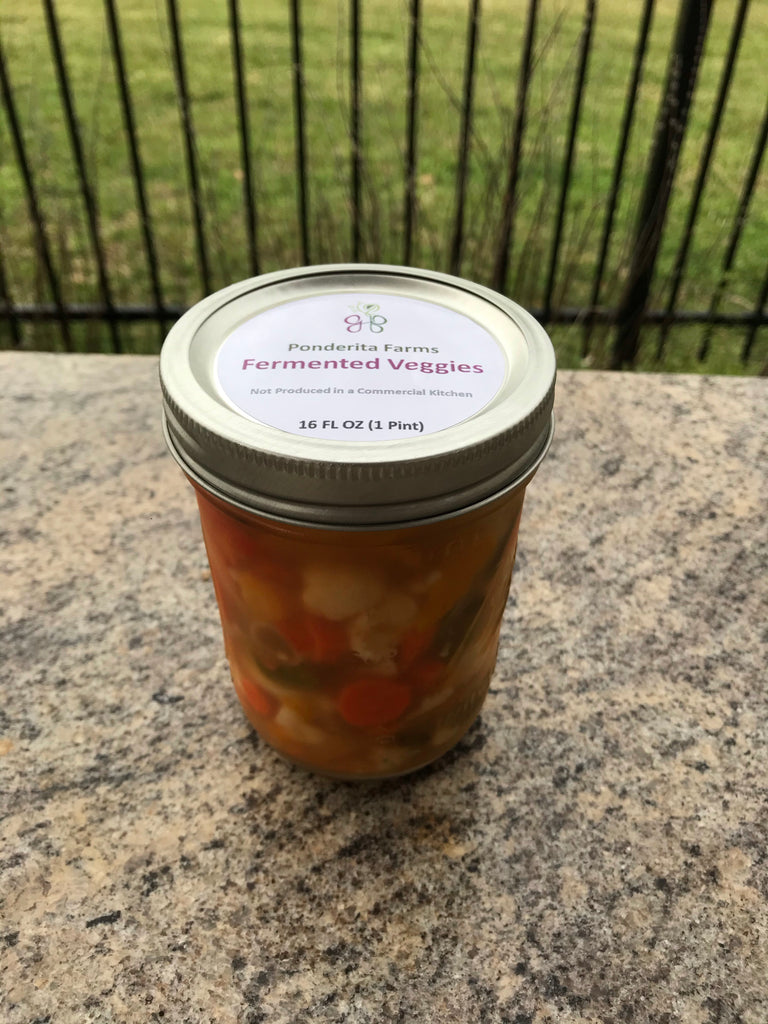 Farm - Probiotic Veggies - Garlic Chili Medley