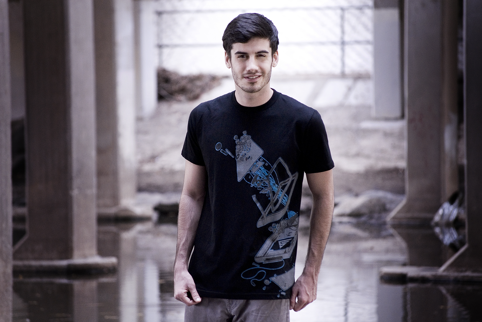 Eighty Sixed Method of Control Men's Tee