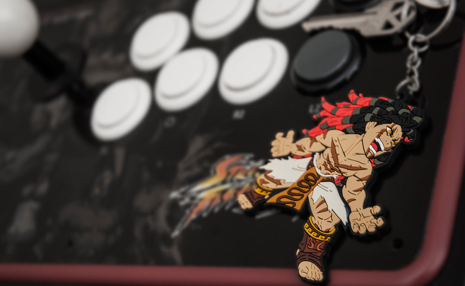 Street Fighter Necalli Keychain by Eighty Sixed