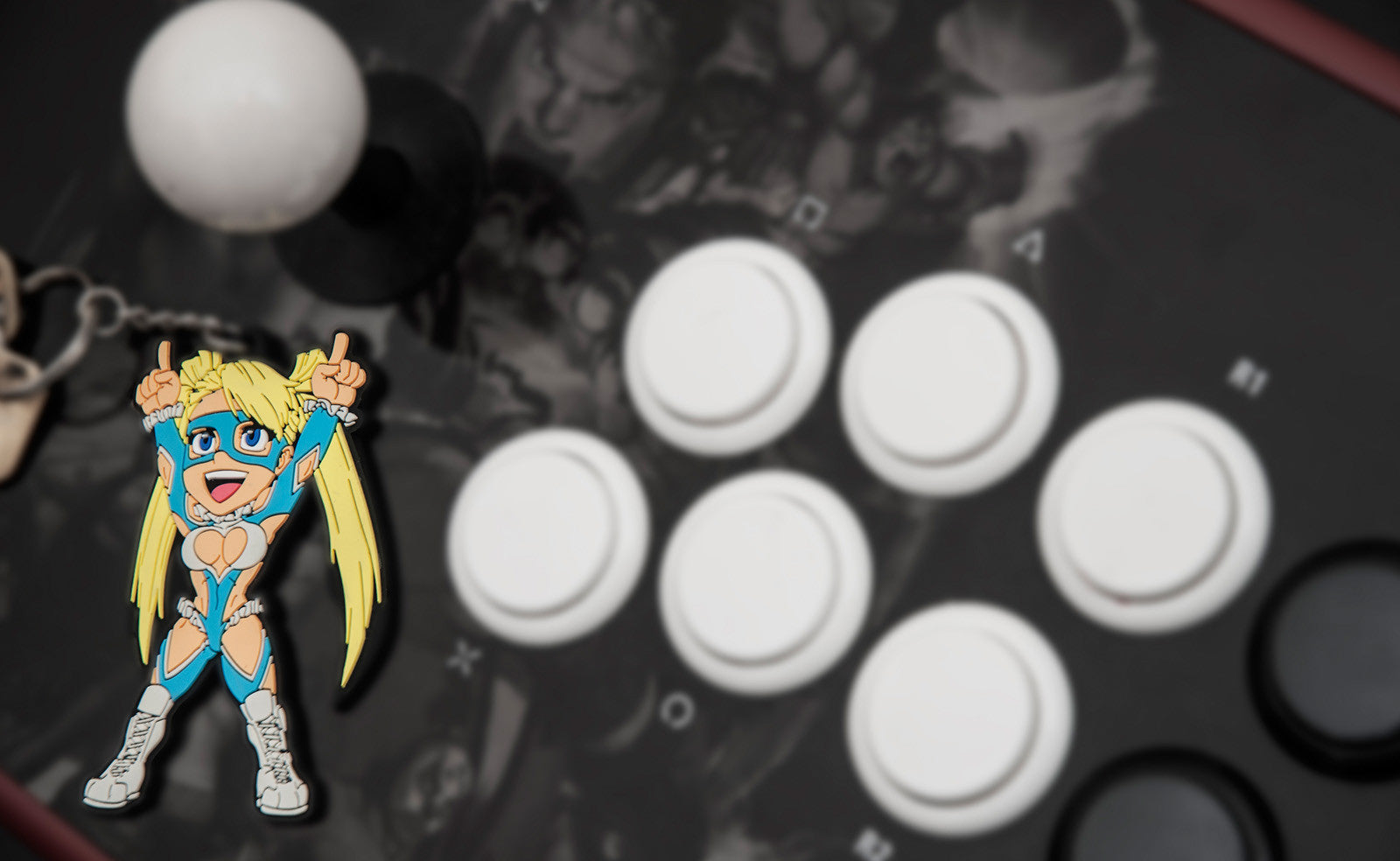 Street Fighter R. Mika Keychain by Eighty Sixed