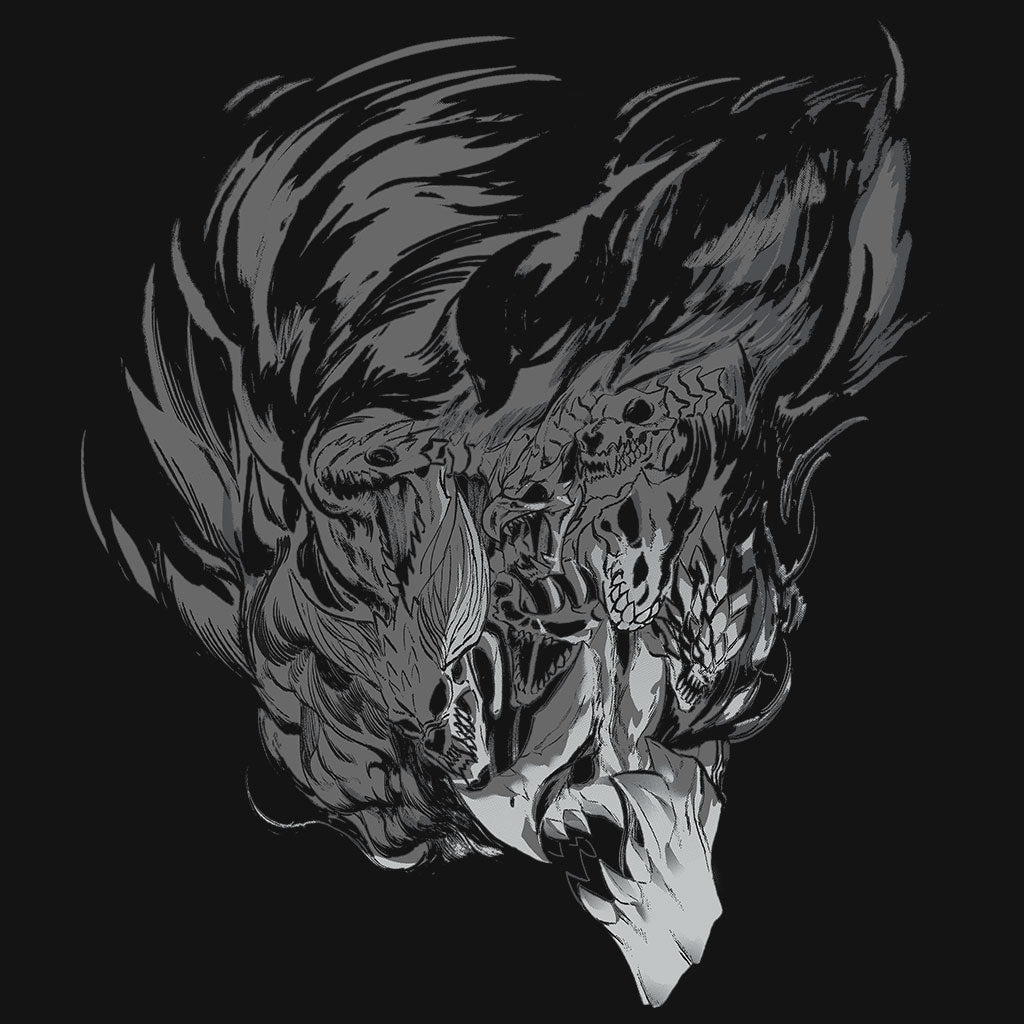 Monster Hunter World - Elder Crossing T-Shirt Design by Eighty Sixed.