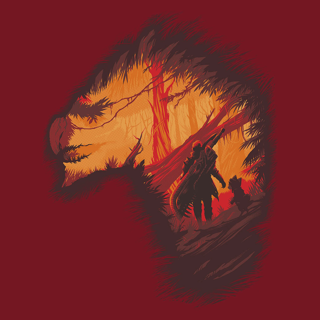 Monster Hunter World Expedition T-Shirt Design by Eighty Sixed