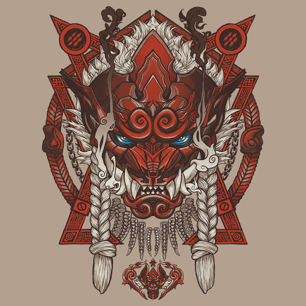 Monster Hunter World Odogaron T-Shirt Design by Eighty Sixed