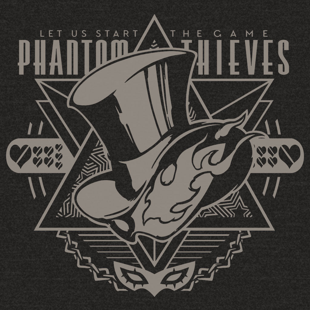 Persona 5 Phantom Thieves T-Shirt Design