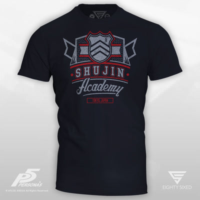 Persona 5 Shujin Academy Dark Navy Men's T-Shirt