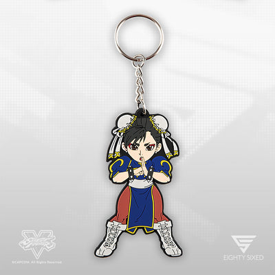 Street Fighter Chun Li Keychain by Eighty Sixed