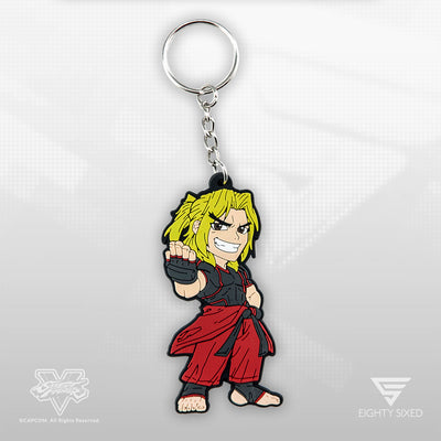 Street Fighter Keychain by Eighty Sixed