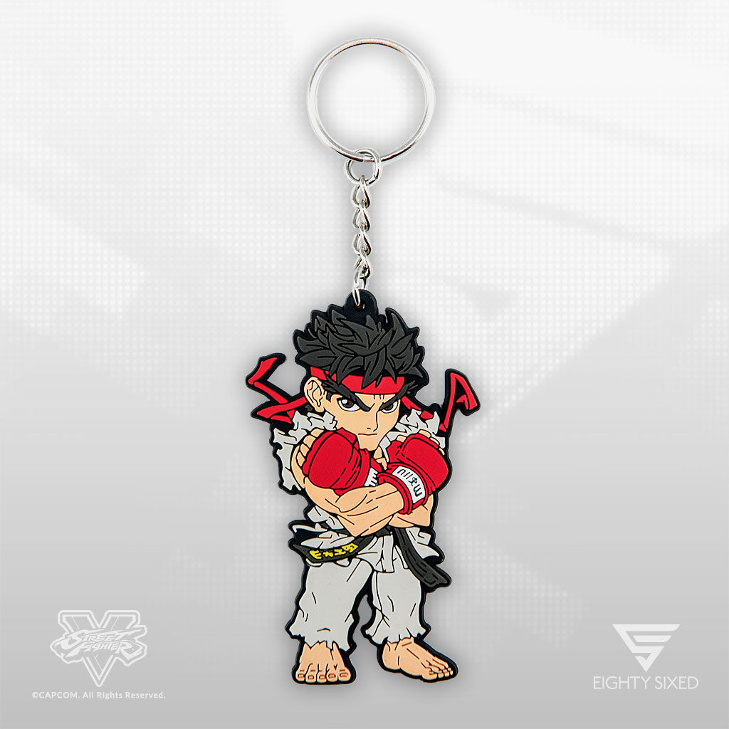 Street Fighter Ryu Keychain by Eighty Sixed