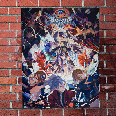 Blazblue - Central Fiction Poster